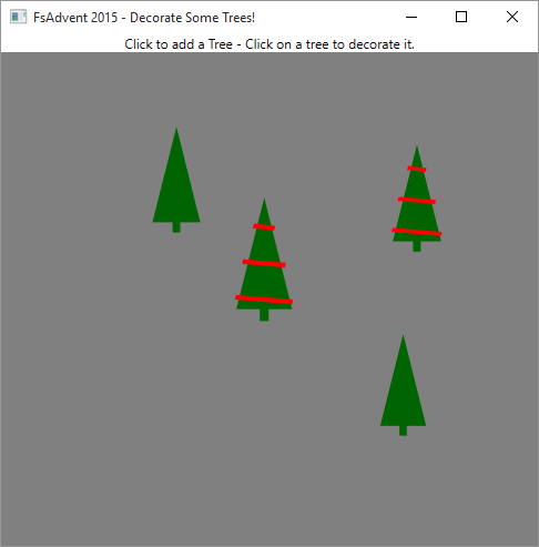 Christmas Trees in WPF using FSharp ViewModule : Reed Copsey